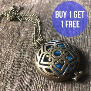 Jewelry - Boho Aromatherapy Locket/ Colored Pad Included